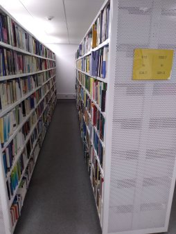 Maths books - 1st floor of the library