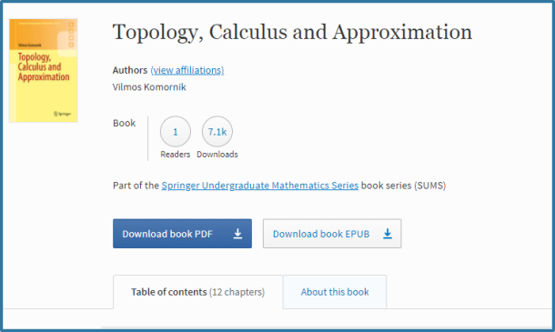 springer ebook